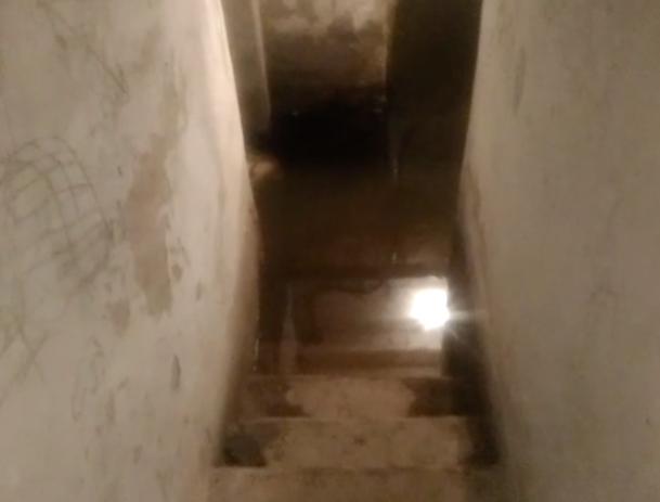 После обращения в «Блокнот Волжского» в подвале устранили потоп, - горожанка