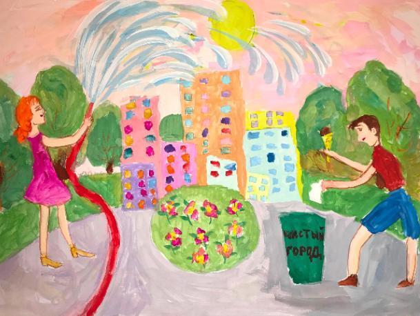 Юная волжанка получила смартфон за самый лучший рисунок