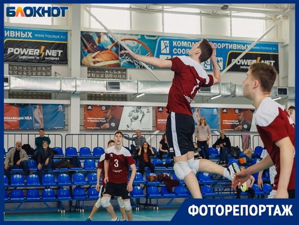 В Волжском стартовали финальные игры по волейболу первенства России