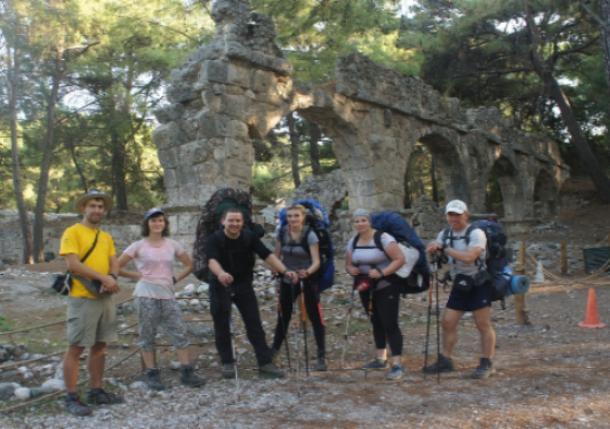 Волжане посетили руины города Фаселис, основанного в VII веке до н. э.