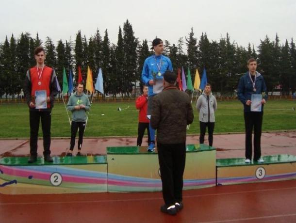 Волжанин завоевал «серебро» по метанию копья в Сочи
