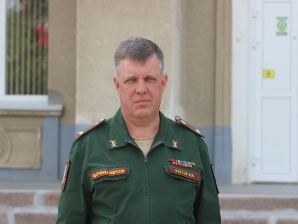 Волжанам представили нового военного комиссара