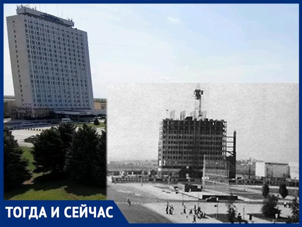 Самое высотное здание Волжского расположено в сердце города