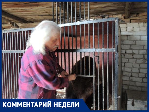 «Самый страшный зверь - человек»,- дрессировщик Павел Кудря