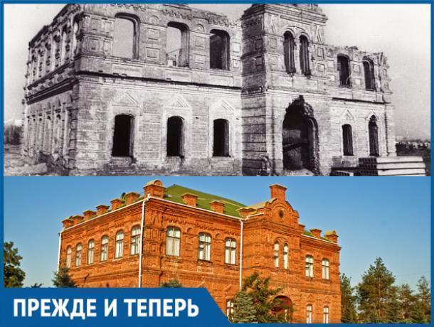 Здание старой школы «пережило» разрушительный пожар в Волжском