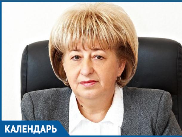 Календарь Волжского: 1 декабря день рождения «мэра в юбке» Марины Афанасьевой