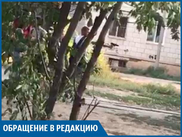 Подростки ведут обстрел дворов, - волжанка