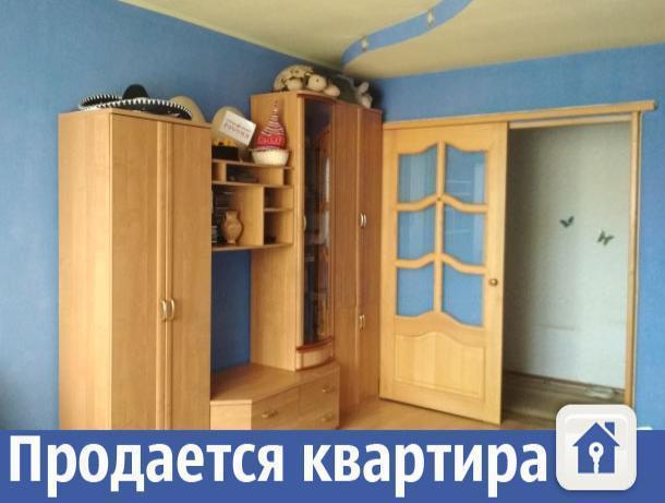 Двухкомнатная квартира с хорошим ремонтом продается в Волжском