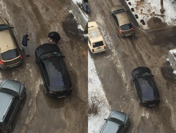 «Ямы с колесо»: дорожный коллапс в Волжском