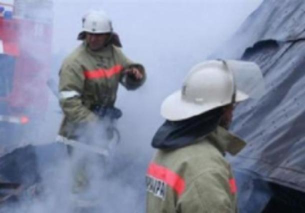 На Зеленом сгорел бывший отдел полиции