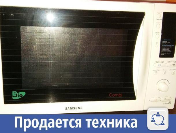В Волжском дешево продается микроволновая печь