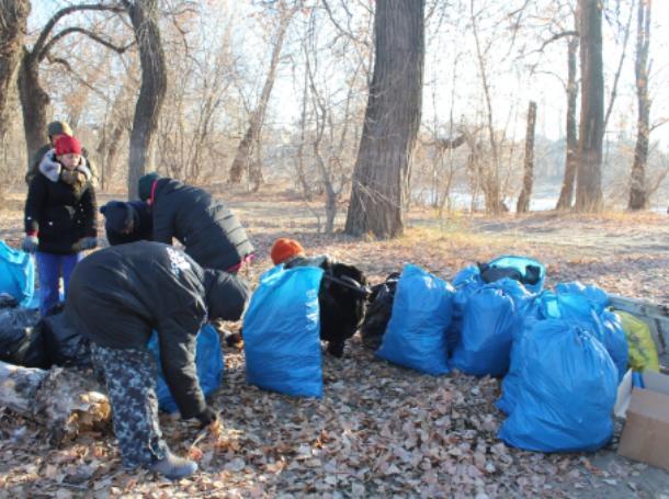 Более трех тысяч человек очистили от мусора пойму под Волжским