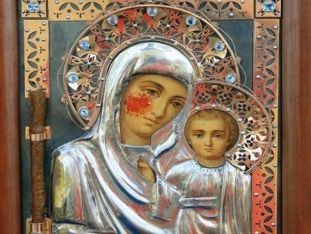 Кровоточащую икону привезут в Волжский на православную выставку