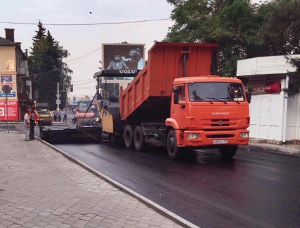 В поселке Краснооктябрьский потратят почти пятьдесят миллионов на дорогу