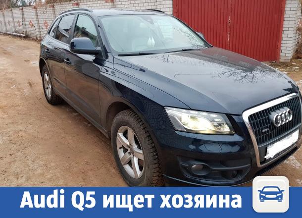 Шикарное авто Audi Q5 продолжило поиски нового владельца в Волжском