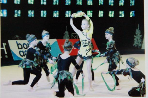 В Волжском пройдет первенство  по эстетической гимнастике