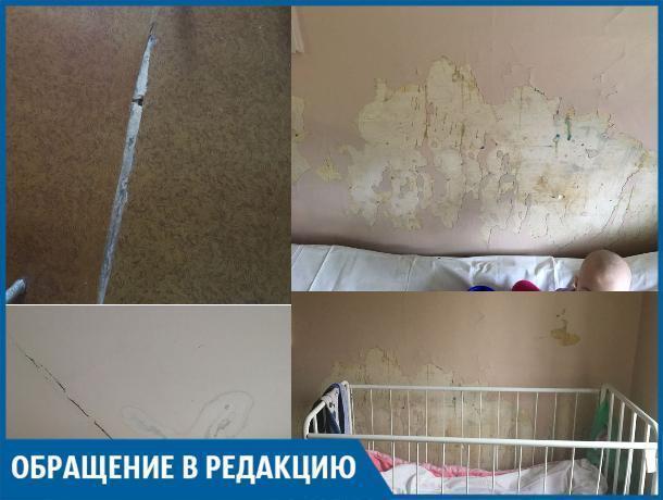 Штукатурка в палате сыпется прямо на детей, - Любовь Ефименко о волжской инфекционной больнице