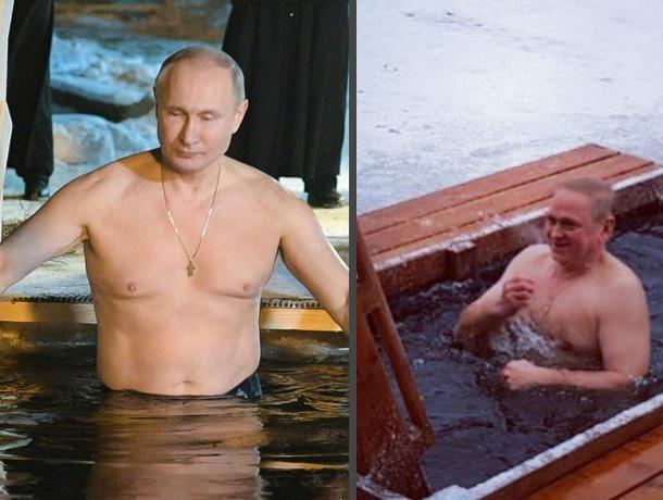Владимир Путин, Игорь Воронин и даже Ксения Собчак вошли в крещенскую воду