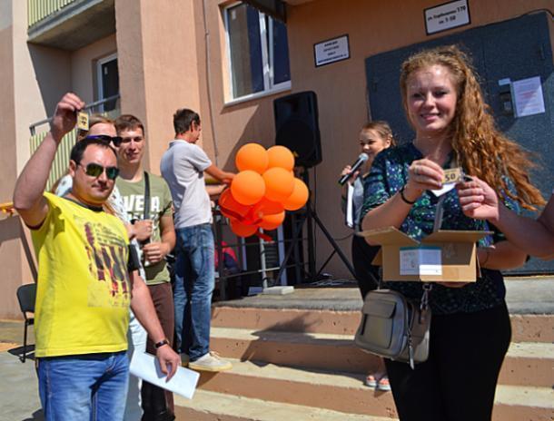 Жилой комплекс «Династия» проводит акцию в честь сдачи первого дома