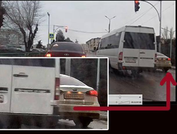Глава Дубовского района прокатывает казенные средства в выходной день в Волжском