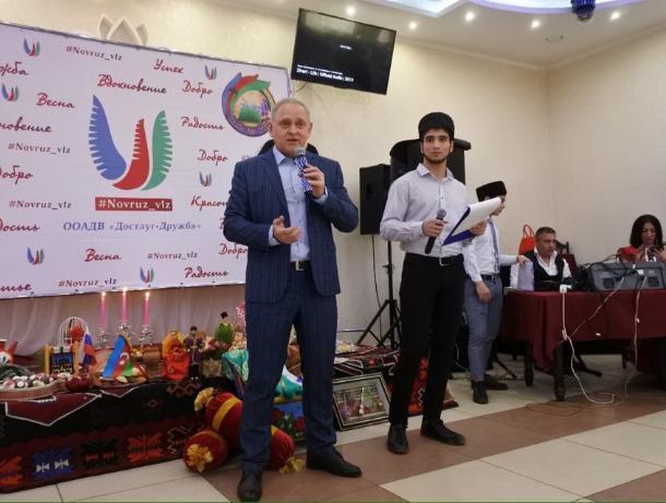 Игорь Воронин поздравил волжан с праздником «Навруз»