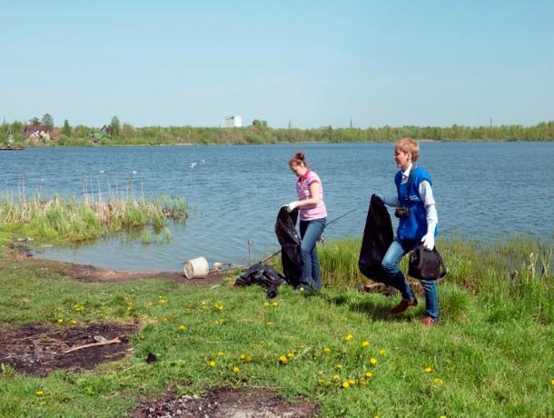 Около 100 мешков с мусором отвезли добровольцы с «Волго-Ахтубинской поймы»