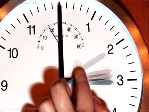 Волжане переведут время на час вперед