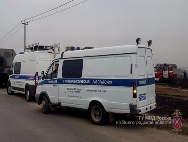 Ответственных за пожары в Волжском и Среднеахтубинском районе начала искать полиция
