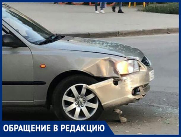 Пострадавший разыскивает виновника ДТП в Волжском