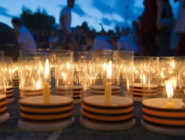 Волжане зажгут свечи в День памяти и скорби