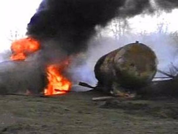 ВВолжском потушили пожар наскладе нефтепродуктов