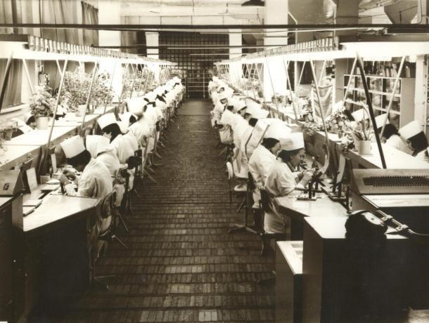 Компьютеры в СССР выпускали на Волжском заводе электронно-вычислительной техники