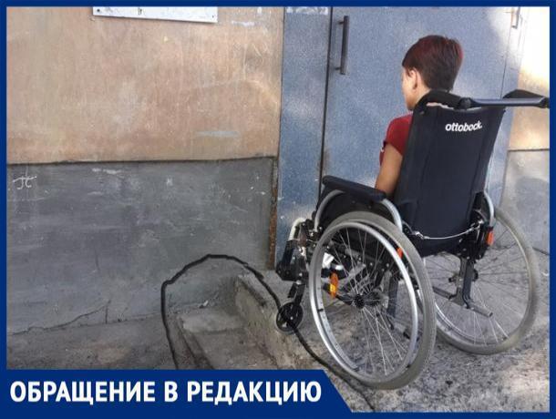 За инициативу волжанина оборудовать подъезд для инвалидной коляски, ему пригрозили штрафом