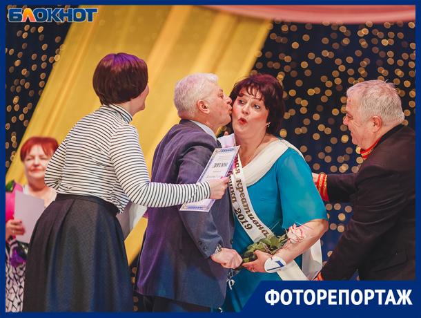Фоторепортаж с конкурса «Супербабушка» в Волжском
