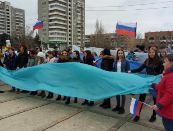Присоединение Крыма к России-яркое событие для волжан