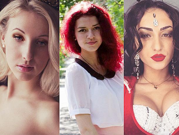 Сладострастное трио «Виагра» напомнили победительницы конкурса «Мисс Блокнот Волжский-2017»