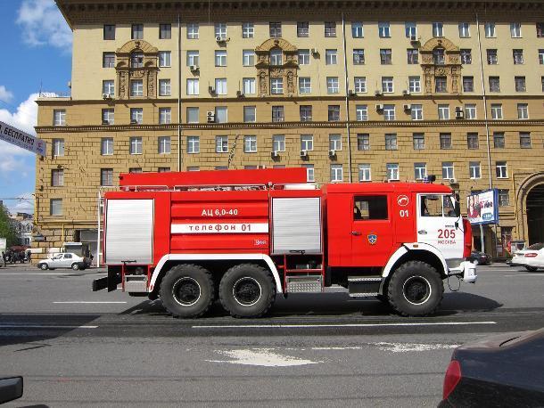 В Быковском районе по всей площади горело здание