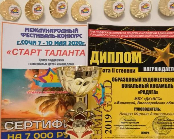 Международный конкурс «PREMIA GOLD» прошел в Волжском