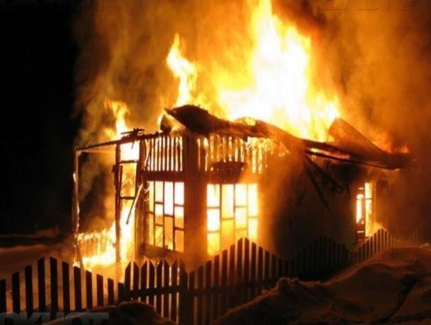 Труп женщины обнаружили после пожара вБыковском районе