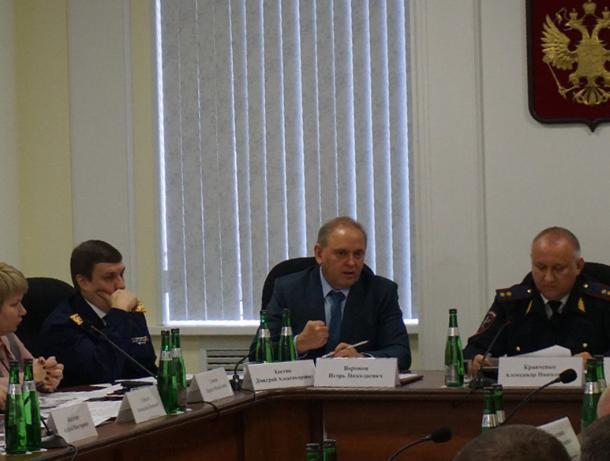 Начальник полиции Александр Кравченко оценил работу Волжского