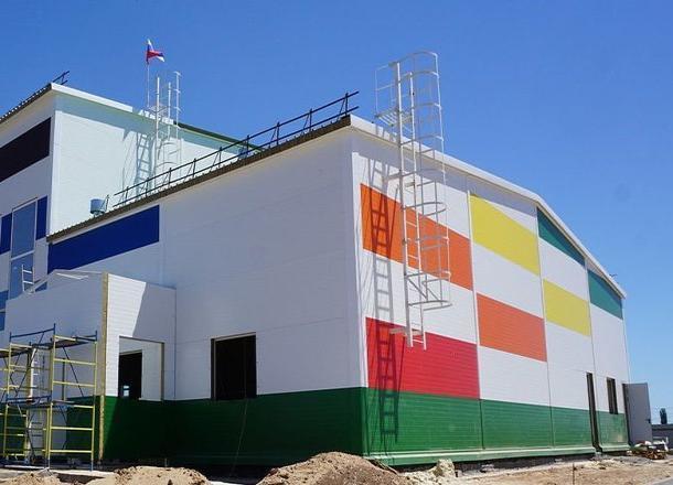 1 февраля в поселке Краснооктябрский откроется новый ФОК
