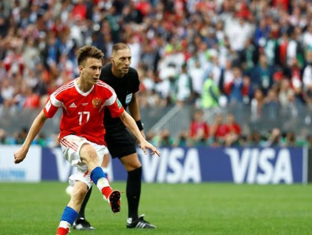 Александр Головин - лучший игрок российской сборной, - волжский болельщик