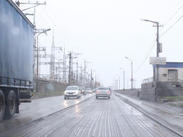 В Волжском сняли старую дорогу на Волгоград