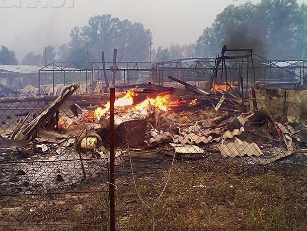 Пункты временного размещения организовали для волжан пострадавших от многочисленных пожаров