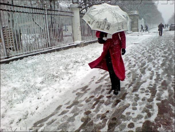 Дождь, снег и сильный ветер спрогнозировали волжанам в день выборов президента РФ