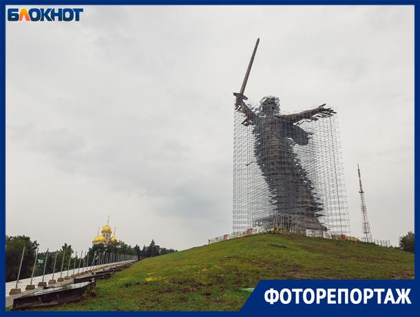 Грандиозная реконструкция статуи «Родина-мать зовет!» оставит след в истории