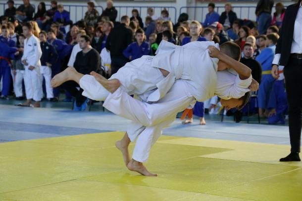 Волжане получили девять золотых медалей первенства города  по дзюдо