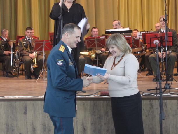 Воинская часть на острове Зелёном в Волжском отметила 64-ю годовщину
