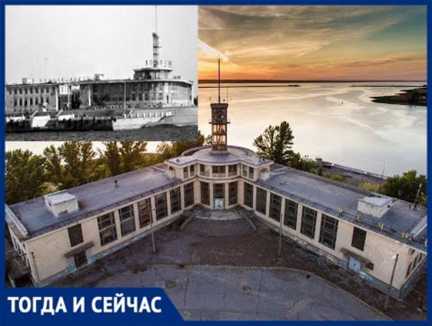 Атмосфера застывшего времени - речной вокзал в Волжском