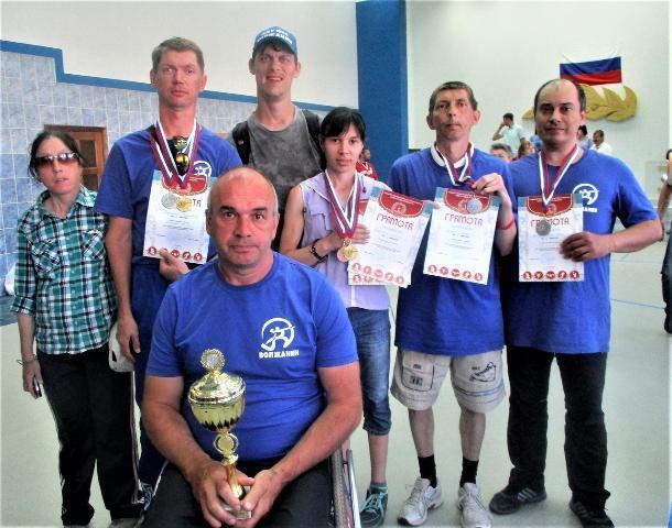 Волжские спортсмены взяли «серебро» областной спартакиады